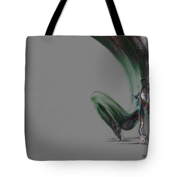 emergent II - textured second version Tote Bag