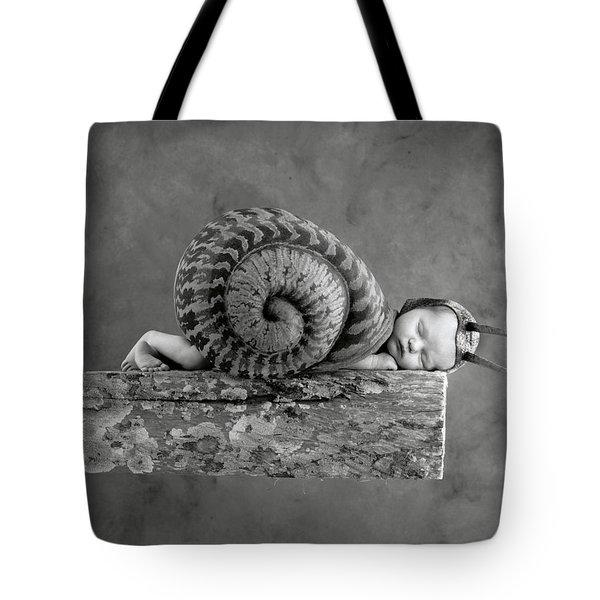 Julia Snail Tote Bag