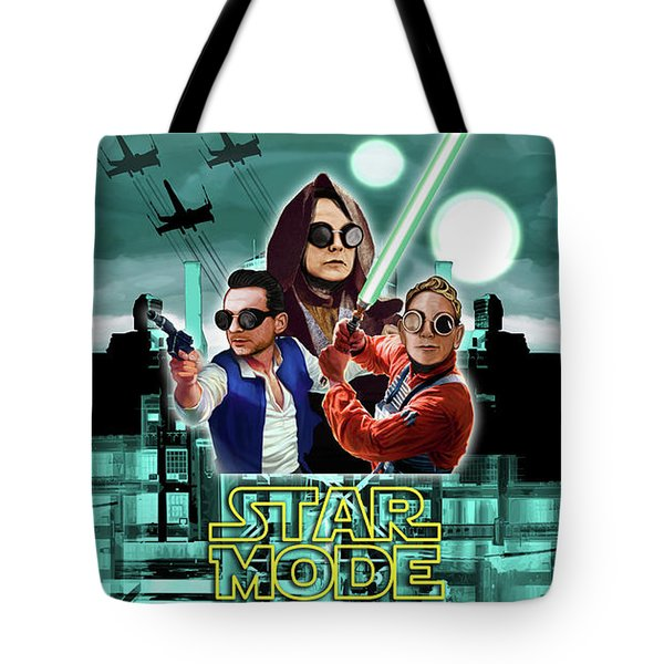 Star Mode - Star Wars And Depeche Mode Tote Bag