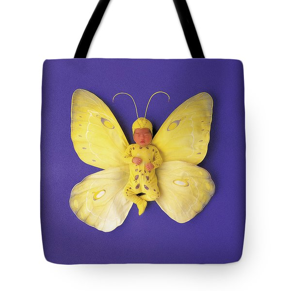 Fiona Butterfly Tote Bag by Anne Geddes