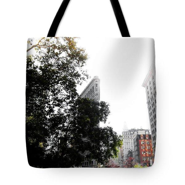 Flatiron Autumn  Tote Bag