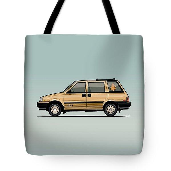 Nissan Stanza / Prairie 4wd Wagon Gold Tote Bag
