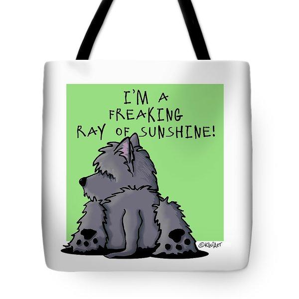 Ash Cairn Sunshine Tote Bag by Kim Niles