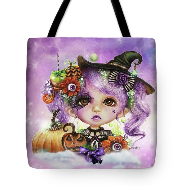 Halloween Hannah - Munchkinz Character  Tote Bag by Sheena Pike