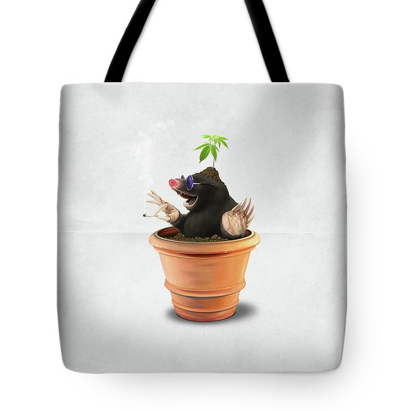 Pot Wordless Tote Bag
