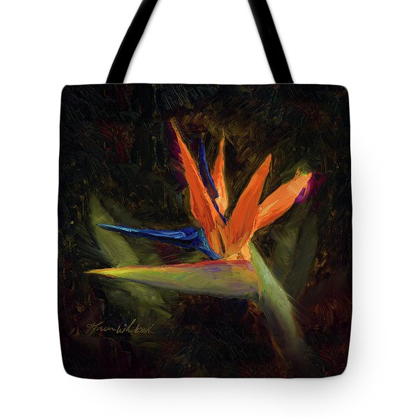Extravagance - Tropical Bird Of Paradise Flower Tote Bag