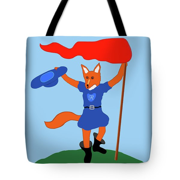 Reynard The Fairy Tale Fox Tote Bag by Marian Cates