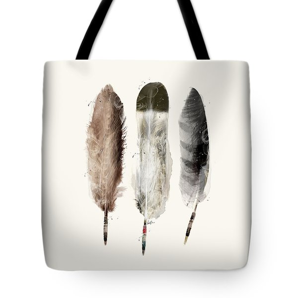 Native Feathers Tote Bag