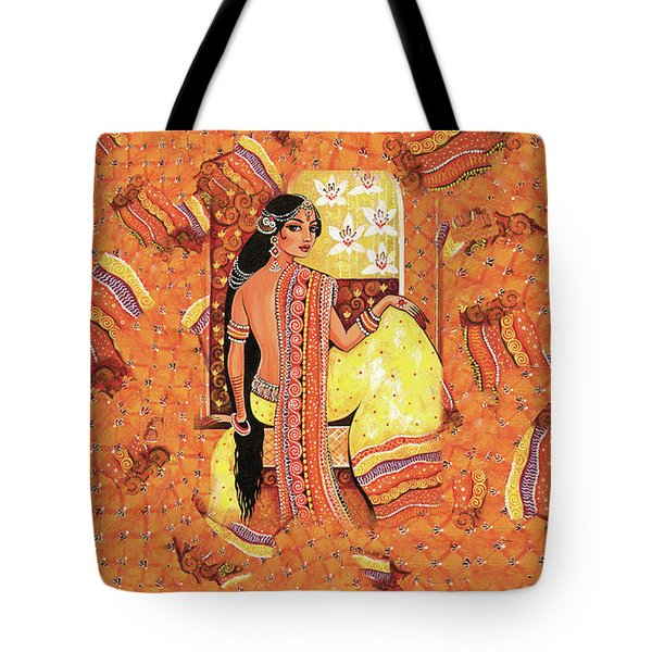 Bharat Tote Bag by Eva Campbell