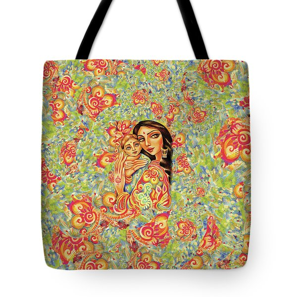 Goddess Blessing Tote Bag
