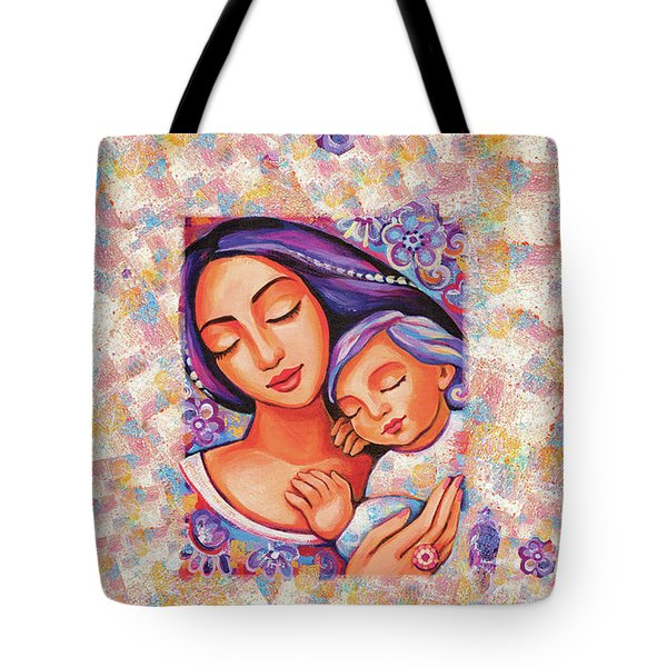Dreaming Together Tote Bag by Eva Campbell