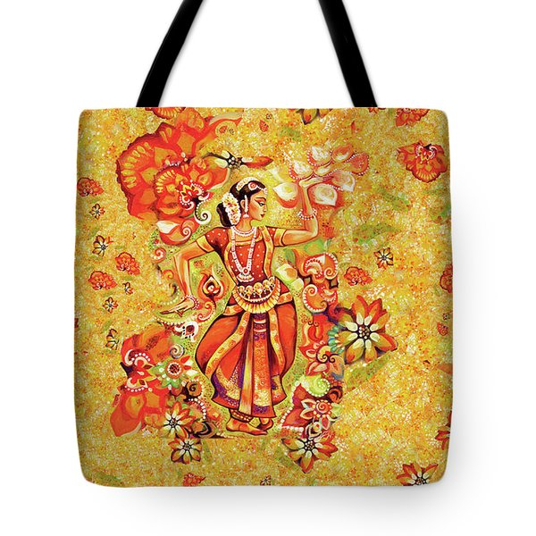 Ganges Flower Tote Bag