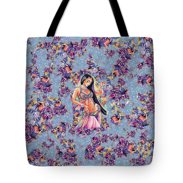 Dancing In The Mystery Of Shahrazad Tote Bag