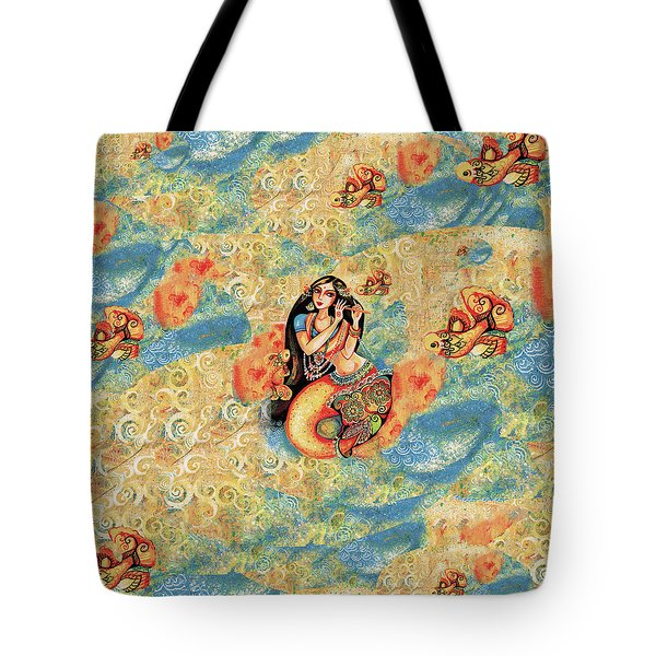 Aanandinii And The Fishes Tote Bag