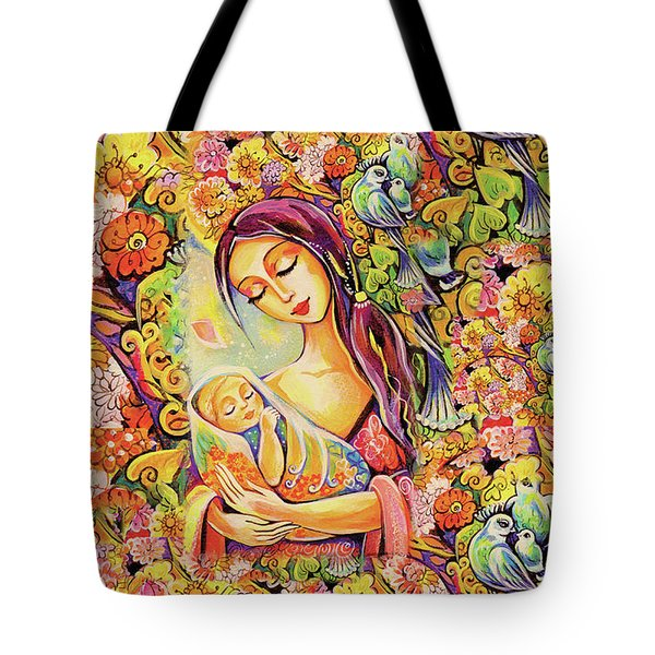 Tree Of Life Tote Bag by Eva Campbell
