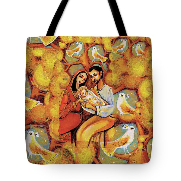 Tote Bag featuring the painting Tree Of Life by Eva Campbell