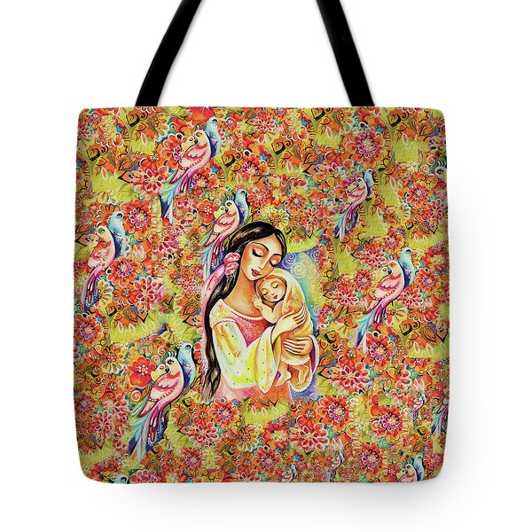 Little Angel Dreaming Tote Bag