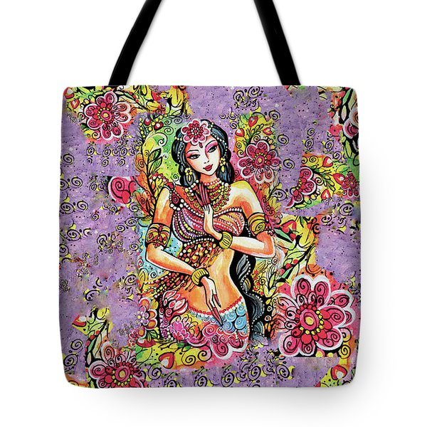 Tote Bag featuring the painting Kuan Yin by Eva Campbell