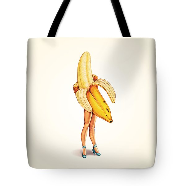 Fruit Stand - Banana Tote Bag