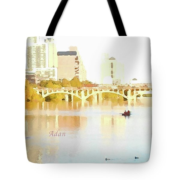 Austin Texas - Lady Bird Lake - Mid November - Two - Art Detail Tote Bag