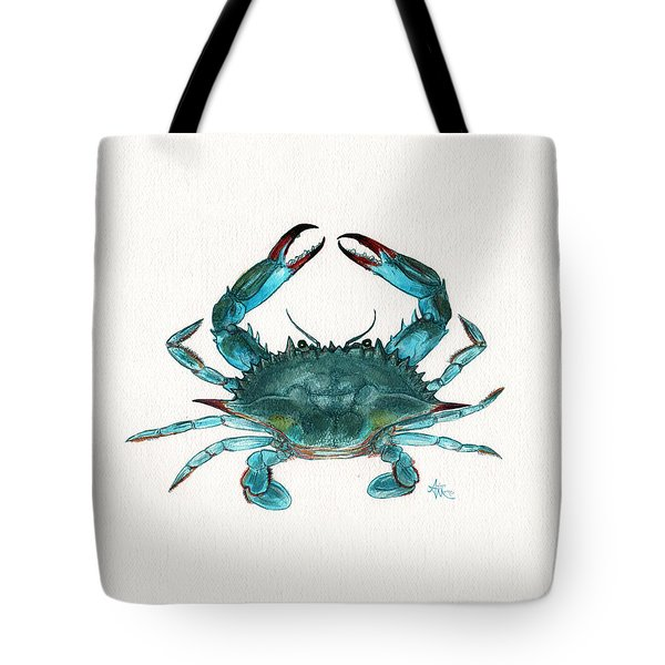 Blue Crab Tote Bag