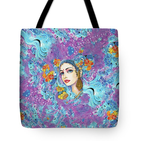 The Veil Of Aish Tote Bag