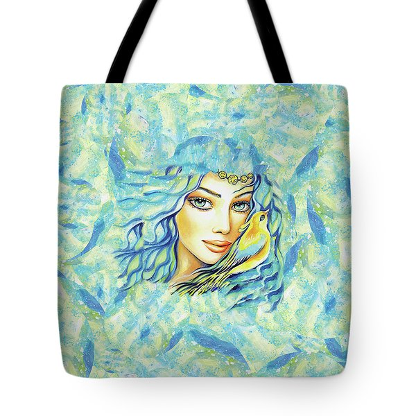 Bird Of Secrets Tote Bag