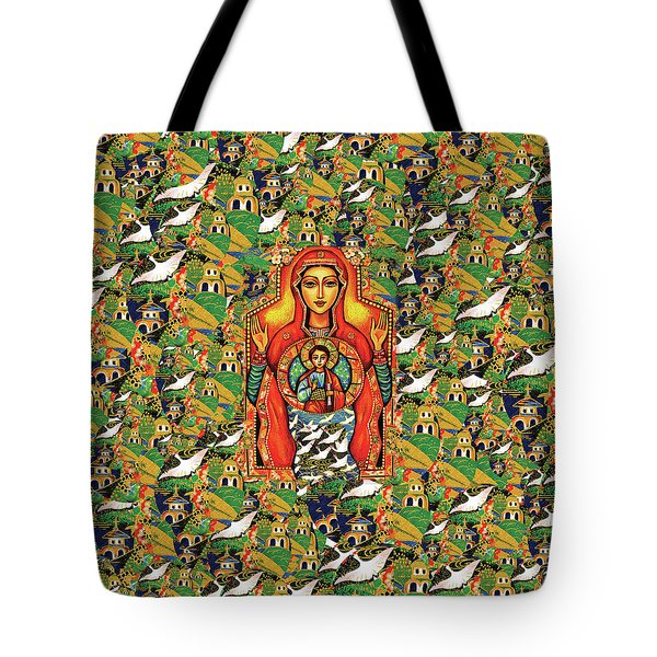 Our Lady Of The Sign Tote Bag