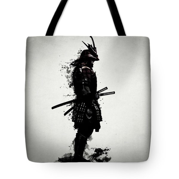 Armored Samurai Tote Bag