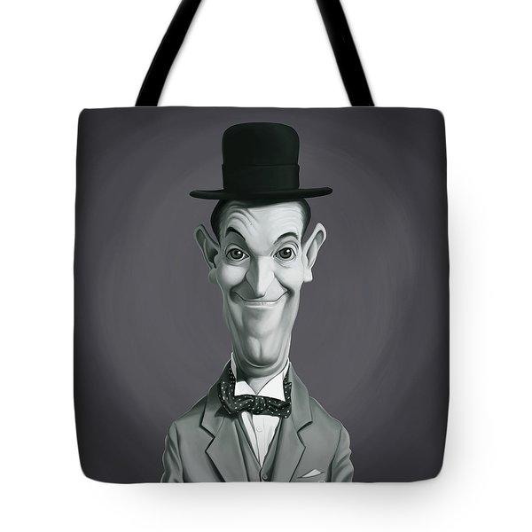Celebrity Sunday - Stan Laurel Tote Bag