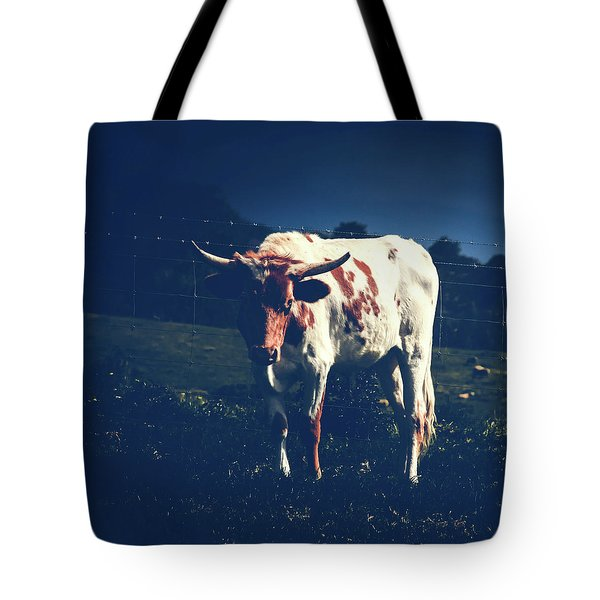 Tote Bag featuring the photograph Midnight Encounter by Sharon Mau