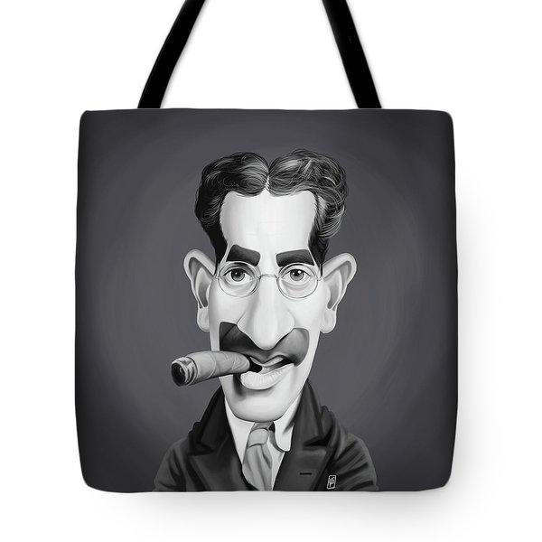 Celebrity Sunday - Groucho Marx Tote Bag