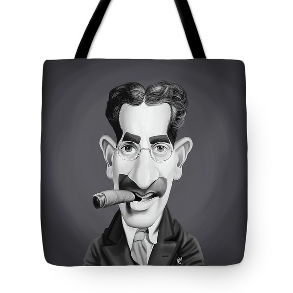 Celebrity Sunday - Groucho Marx Tote Bag