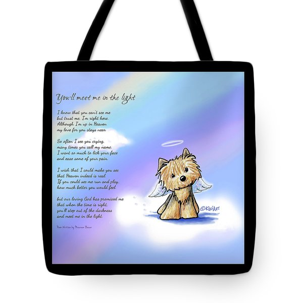 Yorkie Memorial Tote Bag