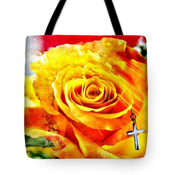 God Love Peace Tote Bag
