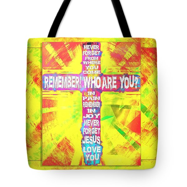 The Cross Of Victory Tote Bag