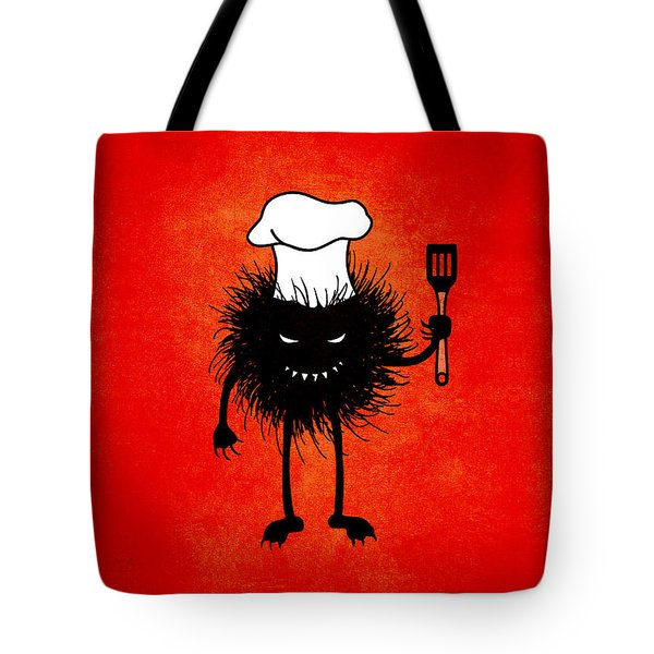 Evil Bug Chef Loves To Cook Tote Bag