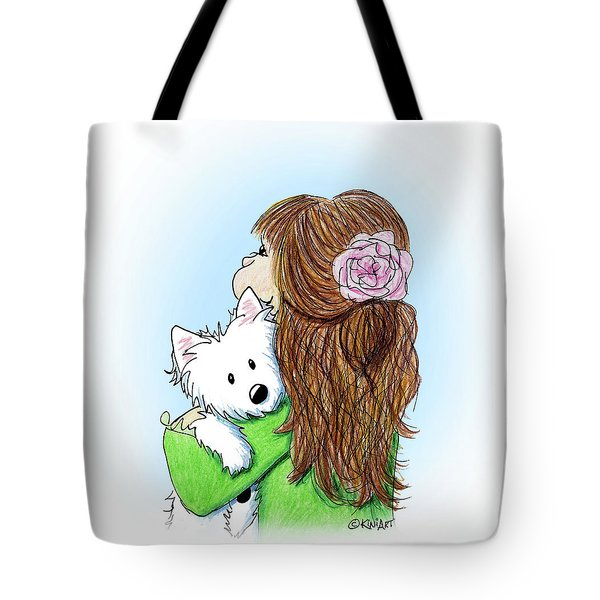 Can I Keep Him? Tote Bag by Kim Niles