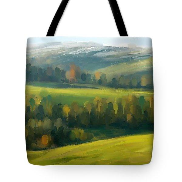 Rich Landscape Tote Bag
