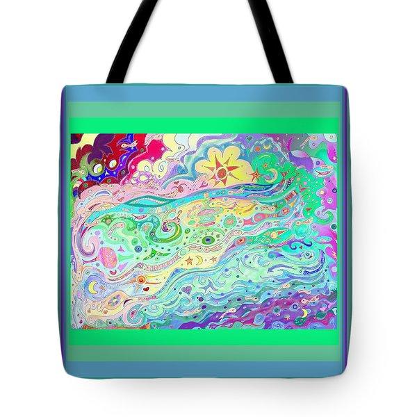 Beltaine Seashore Dreaming Tote Bag