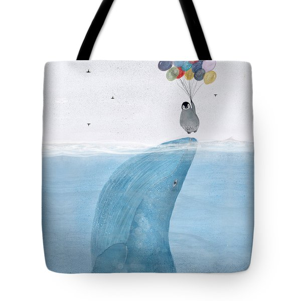 Tote Bag featuring the painting Uplifting by Bri B