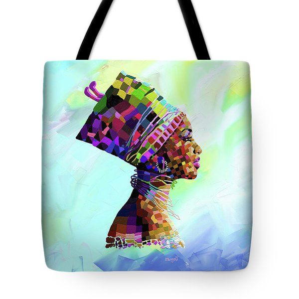 Queen Nefertiti Tote Bag