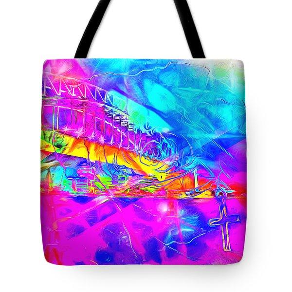 Lord I Need You Time Tote Bag