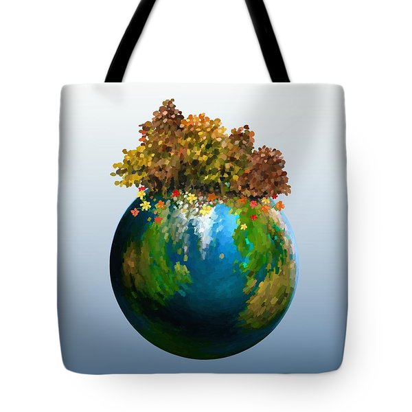 Tote Bag featuring the painting There Is Only One by Ivana Westin