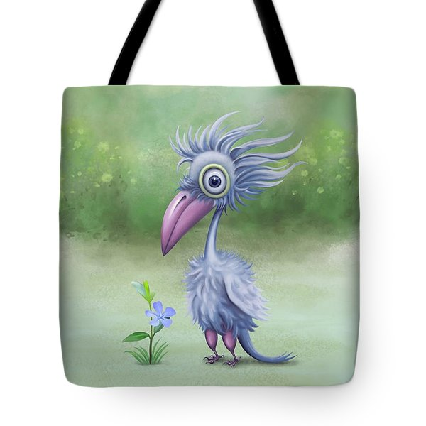 Tote Bag featuring the painting Beauty Is Subjective by Ivana Westin
