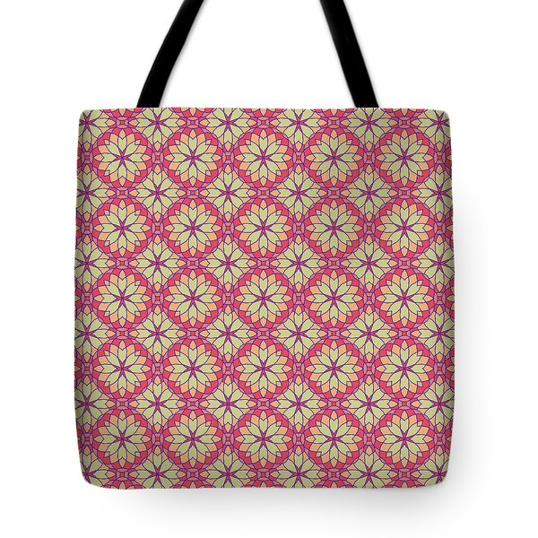 Stained Glass Tote Bag by Methune Hively