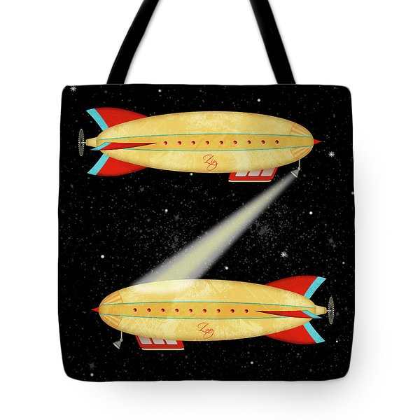 Z Is For Zeppelin Tote Bag