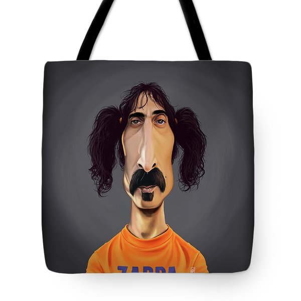 Celebrity Sunday - Frank Zappa Tote Bag
