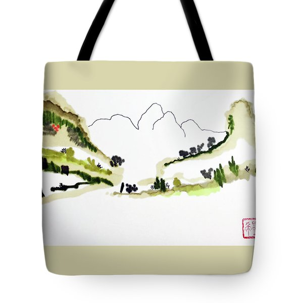 Shadow Mountain Tote Bag