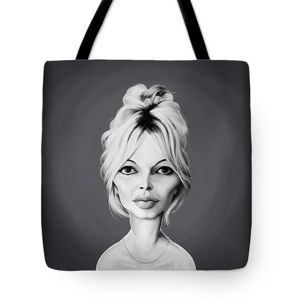 Celebrity Sunday - Brigitte Bardot Tote Bag
